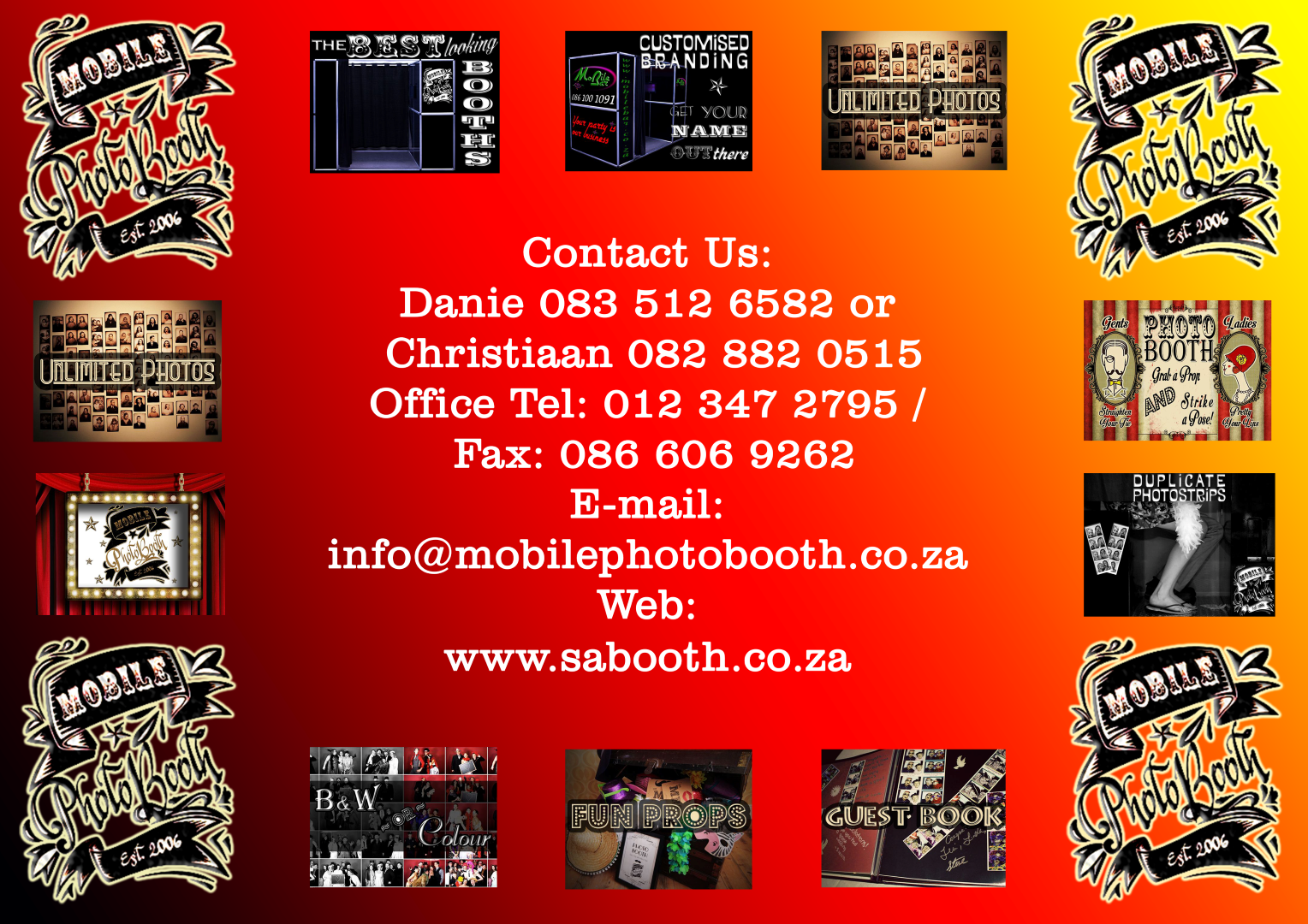 SA Booth Contact Us
